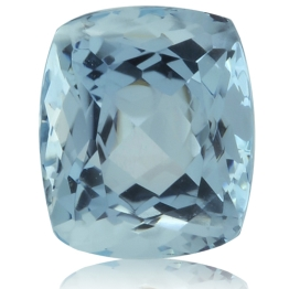 Aquamarine,Cushion 2.55-Carat