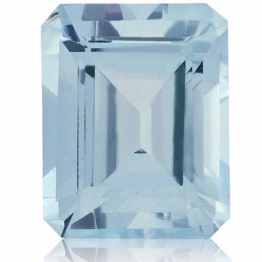 Aquamarine,Emerald Cut 2.68-Carat