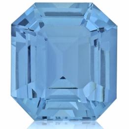 Aquamarine,Emerald Cut 7.55-Carat