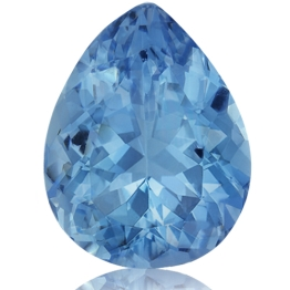Aquamarine,Pear 2.08-Carat