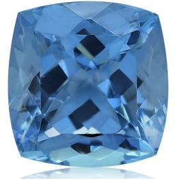 Aquamarine,Cushion 1.85-Carat