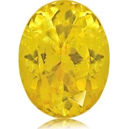 Fancy Sapphire,Oval 1.60-Carat