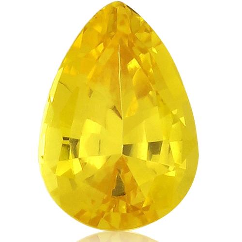 Fancy Sapphire,Pear 2.90-Carat