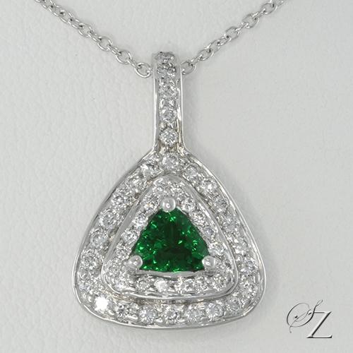 tsavorite-and-diamond-trillion-pendant-lssp148