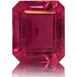 Ruby,Emerald Cut 1.85-Carat