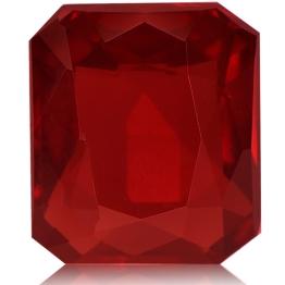 Ruby,Emerald Cut 2.03-Carat