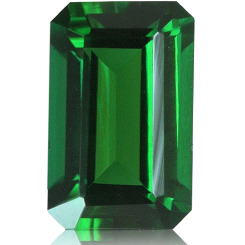 Tourmaline,Emerald Cut 1.42-Carat