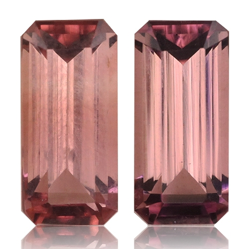 Tourmaline,Matched Pairs 2.24-Carat