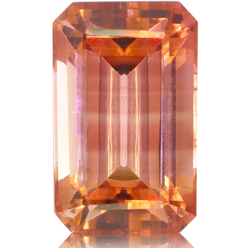 Tourmaline,Emerald Cut 2.62-Carat