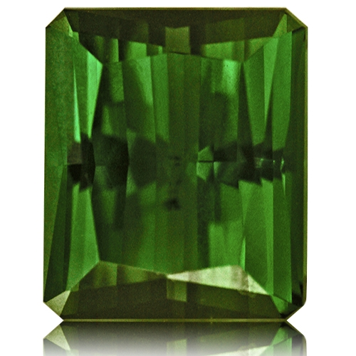 Tourmaline,Emerald Cut 9.22-Carat
