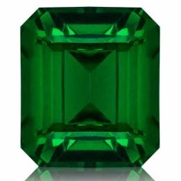 Tsavorite,Emerald Cut 1.23-Carat