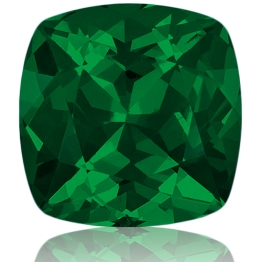 Tsavorite,Cushion 1.13-Carat