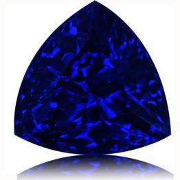 Tanzanite,Trillion 3.42-Carat