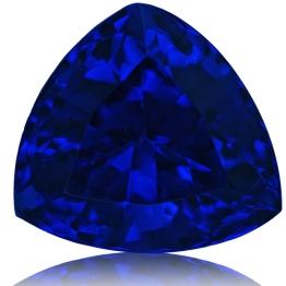 Tanzanite,Trillion 4.00-Carat