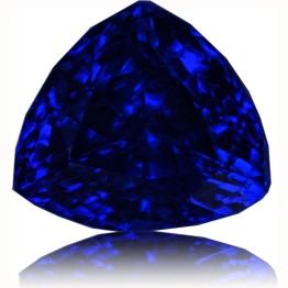Tanzanite,Trillion 5.28-Carat