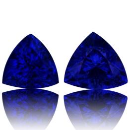 Tanzanite,Matched Pairs 2.30-Carat