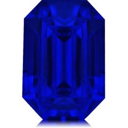 Tanzanite,Emerald Cut 2.74-Carat