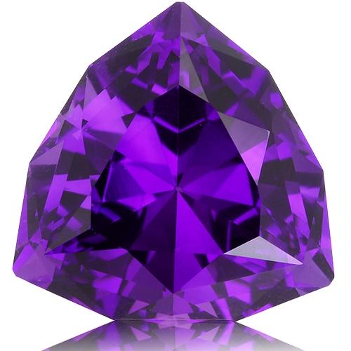 Amethyst,Trillion 8.80-Carat