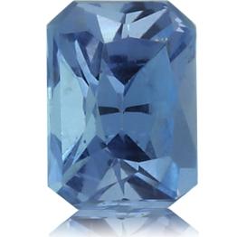 Aquamarine,Emerald Cut 0.77-Carat
