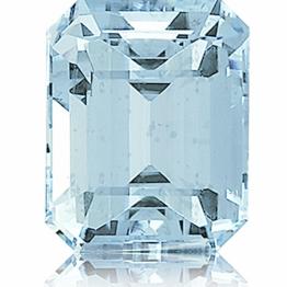 Aquamarine,Emerald Cut 4.32-Carat