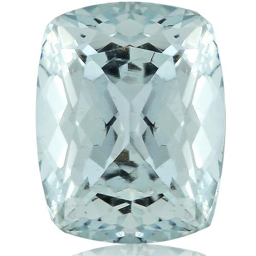 Aquamarine,Cushion 2.73-Carat