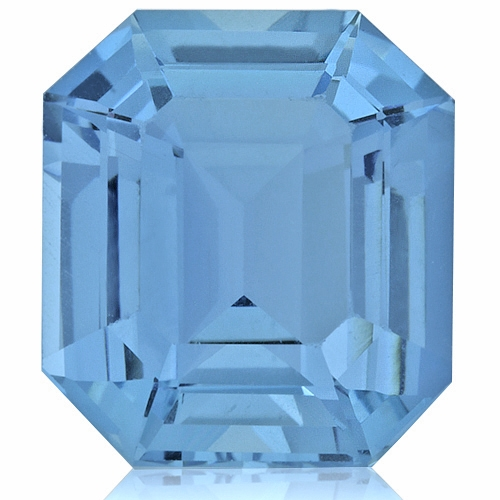 Aquamarine,Emerald Cut 7.55-Carat