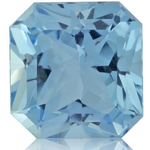 Aquamarine,Asscher 2.78-Carat