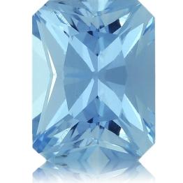 Aquamarine,Emerald Cut 1.44-Carat