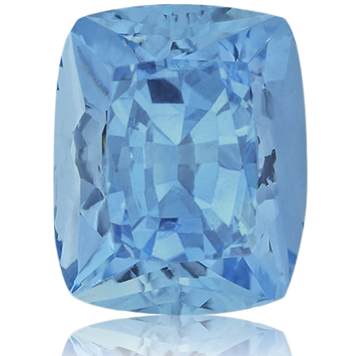 Aquamarine,Cushion 6.70-Carat