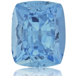 Aquamarine,Cushion 6.70-Carat