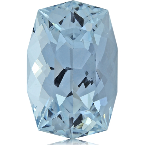 Aquamarine,Cushion 13.82-Carat