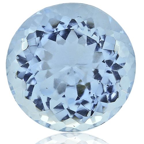 Aquamarine,Round 3.53-Carat