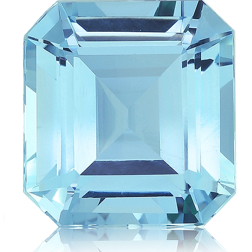 Aquamarine,Emerald Cut 9.32-Carat