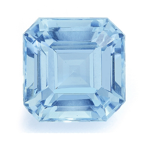 Aquamarine,Emerald Cut 3.63-Carat