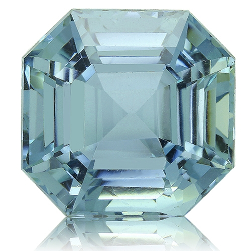 Aquamarine,Emerald Cut 14.91-Carat
