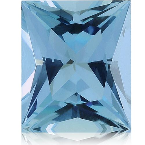Aquamarine,Baguette 1.12-Carat