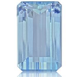 Aquamarine,Emerald Cut 3.50-Carat