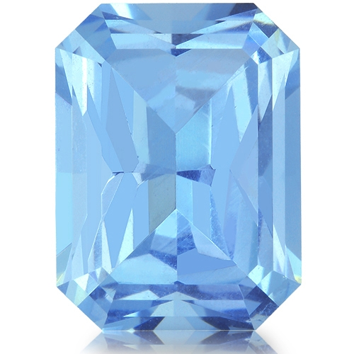 Aquamarine,Emerald Cut 3.52-Carat