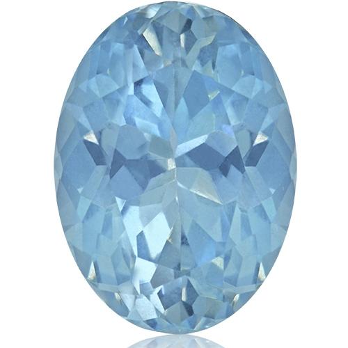Aquamarine,Oval 5.70-Carat