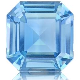 Aquamarine,Emerald Cut 2.52-Carat