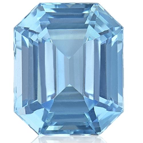 Aquamarine,Emerald Cut 2.38-Carat
