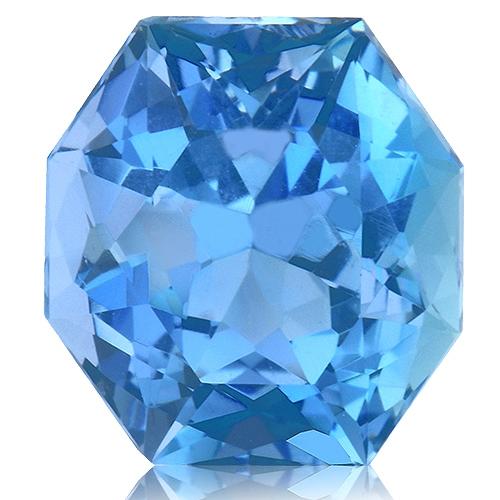 Aquamarine,Radiant 3.45-Carat
