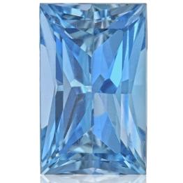 Aquamarine,Baguette 1.77-Carat
