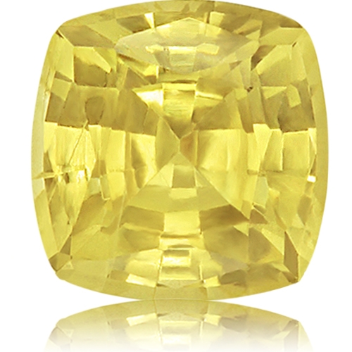 Chrysoberyl,Cushion 3.22-Carat