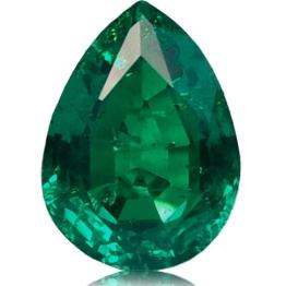 Emerald,Pear 1.42-Carat