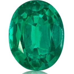 Emerald,Oval 5.32-Carat