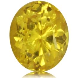 Fancy Sapphire,Oval 1.56-Carat
