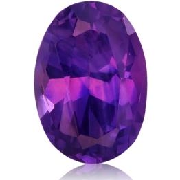 Fancy Sapphire,Oval 0.96-Carat