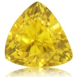 Fancy Sapphire,Trillion 2.59-Carat