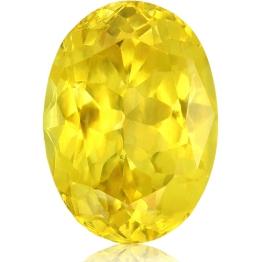 Fancy Sapphire,Oval 2.52-Carat